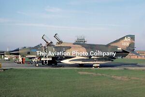 US Air Force 10 TRW 1 TRS McDonnell RF-4C Phantom 65-0830/AR (1975) Photograph