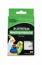 New listing 8 in 1 Ecotrition Nesting Material for Cockatiels Parakeets Finches 0.25 Oz