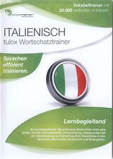 Italienisch - Deutsch lernen, Wortschatzstrainer, 20.000 Wörter, tulox