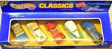 HOT WHEELS CLASSIC 5 CAR GIFT PAK AUBURN MERCEDES BUGATTI MUSTANG