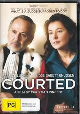 COURTED - NEW REGION 4 DVD FREE LOCAL POST