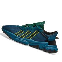 ADIDAS MENS Shoes Pusha T Ozweego - Tech Mineral & Dark Green - FV2480