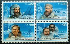 2220 - 2023 MNH Polar Explorers B4 North Pole exploration Kane Peary Henson