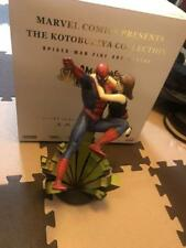 KOTOBUKIYA SPIDERMAN FIGURINE FIGURE 650 LIMITED MARVEL COMICS JAPAN COLLECTION