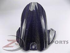 2006-2010 GSXR600 GSXR750 Rear Tire Hugger Mud Guard Fairing Carbon Fiber Blue