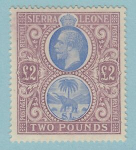 SIERRA LEONE 120 SG 129 MINT LIGHTLY HINGED OG * NO FAULTS EXTRA FINE ! £2