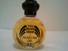VINTAGE THE BODY SHOP PERFUME OIL JAPANESE MUSK 30ML BLACK CAP RARE HARD TO FIND