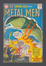 """SHOWCASE #37 """"1962"""". The ORIGIN and FIRST App. of The METAL MEN!"""
