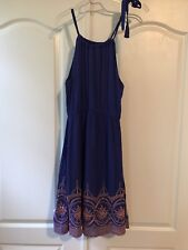 New Papermoon Embroidered Sundress Size S Dress