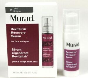 Murad Revitalixir Recovery Serum Face Eye Travel Size .17 oz 5 ml