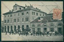 Novara città Stazione cartolina QQ5142