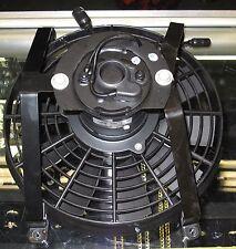 12-28 VOLT DC AC CONDENSER 11 INCH COOLING FAN PUSH OR PULL AIR 12V 20V RADIATOR