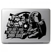 Star Wars Darth Vader for Apple Macbook Air/Pro Laptop Vinyl Decal Sticker Skin