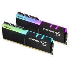 G.Skill 16GB (2x8GB) DDR4 Trident Z RGB 3600MHz[F4-3600C17D-16GTZR]