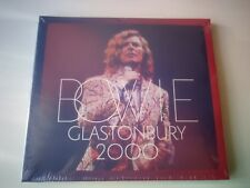 DAVID BOWIE - GLASTONBURY 2000 2 CD NEW AND SEALED 2018