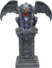 Morris Costumes Haunted RIP Gargoyle Stone With Sound Lights Prop. MR123188