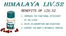 Liv 52 Plain Tablets From Himalaya Herbal 100 Counts Natural Herbal Body Care