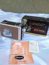 Vintage Brownie Movie camera 8mm no.82 W/ Box   Nice!!