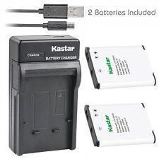 EN-EL19 Battery & USB Charger for Nikon Coolpix A100 A300 W100 S32 S100 S2500