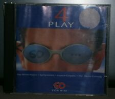 VARIOUS ARTISTS 4 PLAY SO ...FOR HIM WOMEN LOVE IT 4 TRACK CD STONE ROSES + 3