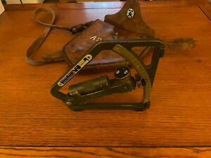 US Army WW2 Gunners Artillery Quadrant. 1943 With Holster
