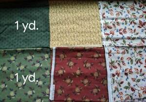 Lot of 7 Yards Thimbleberries Orchard Prints Fabric