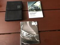 2014 BMW 3 Series Gran Turismo Owners Manual With Case OEM Free Shipping