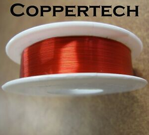 Guitar Pickup Coil Wire. 42 AWG & 39 AWG, solderable, enamelled