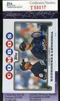 Evan Longoria 2009 Topps Jsa Coa Hand Signed Authentic Autographed