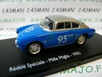 RE61G voiture 1/43 ELIGOR : Renault Rédélé spéciale Mille miglia-1955