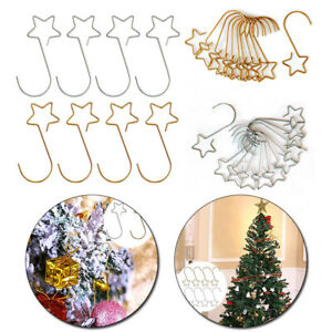 Storage Hook Wreath Hooks Metal For Pendant Hanger Christmas Tree Decorations