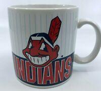 CLEVELAND  INDIANS MLB Baseball Team Chief Wahoo Jumbo Oversided Coffee Mug Cup