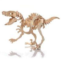 Puzzle Jigsaw 3D in Legno Dinosauro per Bambini Gioco Educativo D1B8 B3D7