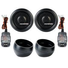 "Memphis Audio MCXA1 M-Class 1"" Component Aluminum Dome Tweeters Car Audio Comp"