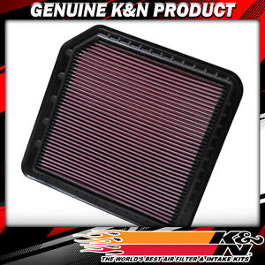 K&N Filters Fits 2011-2018 Infiniti Nissan Hi-Flow Air Intake Filter