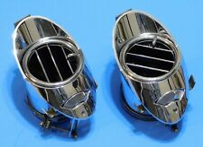 1963 1964 CADILLAC OEM DASH CHROME AIR VENT - PAIR