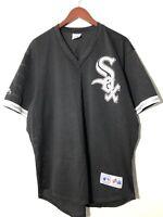 Vintage Chicago White Sox F. Thomas #35 Men's Majestic MLB Jersey Sz XXL USA VTG