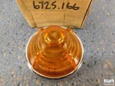 Simca Aronde  Front Turn Flasher Lens   Amber  24218U      NOS