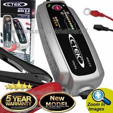 CTEK Mxs 5.0 12v Auto Moto Caravan Smart 8 pasos completamente automático Cargador de batería