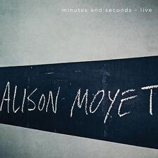 Minutes & Seconds - Live - Alison Moyet (2015, CD NUEVO)