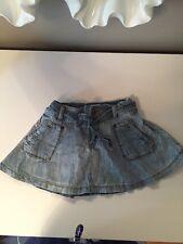 DIESEL  Girl Jean Denim  Skirt 12 Months