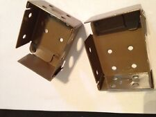 PAIR VENETIAN BLIND BOX BRACKETS 60MM X 44MM  - ANY COLOUR - BLIND SPARE PARTS