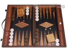 Laurel Backgammon Set - Large - Black Field | Classic Board Game