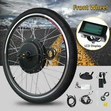 48V 1000W Front Wheel Electric Bicycle Motor Conversion Kit e-Bike Hub with LCD