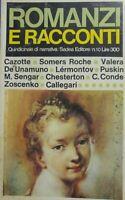 ROMANZI E RACCONTI N.10 SADEA EDITORE