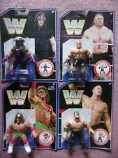 WWE WWF Series 1 Retro Wrestling Mattel Figures Cena Undertaker Warrior Brock