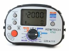Kewtech KT63 5 in 1 Multifunction Tester Supplied with Calibration Certificate