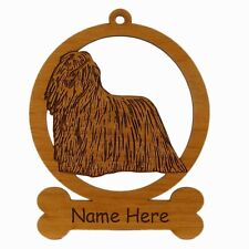Komondor Ornament 083459 Personalized With Your Dogs Name
