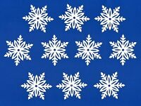 "Snowflake die cuts, 3"" x 3.5"" - Snowflake page decor - Winter die cut #1 10 pcs."