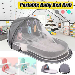 Foldable Baby Infant Mosquito Nets Tent Mattress Bed Cover Travel Portable